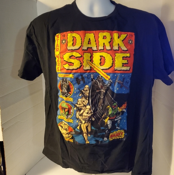 Star Wars The Dark Side comic influenced tshirt